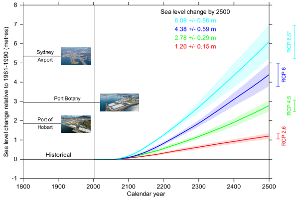 Antarctic contribution to global sea level