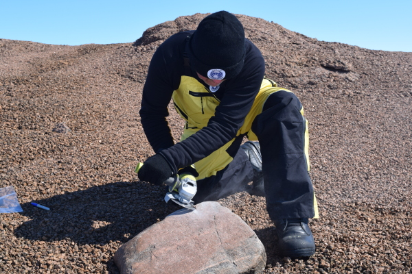 Fieldwork in Antarctica